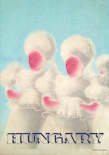 Hungary 1936  Artists: Konecsni - Fery