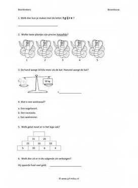 Leuke en leerzame breinbreker voor groep 6, deze en nog vele andere kun je downloaden op de website van Juf Milou.