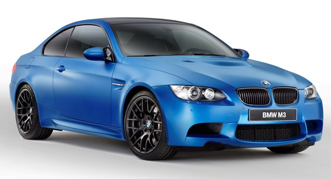 New 2013 BMW M3 Coupe Frozen Limited Edition