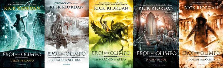 Percy Jackson e gli Eroi dell'Olimpo, saga urban fantasy di Rick Riordan.