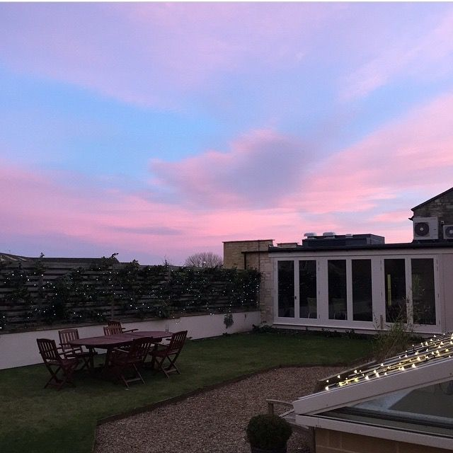 The Roof Garden looking pretty #KingsHeadCiren #TheCotswolds #Cirencester