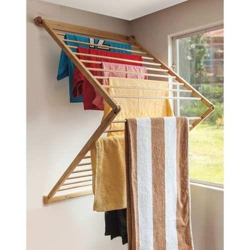 M s de 25 ideas incre bles sobre tendedero en pinterest - Soporte secadora sobre lavadora ...