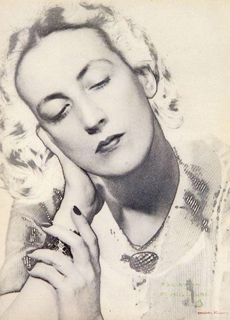 MAN RAY (1890-1976)   Marie-Laure de Noailles, 1936