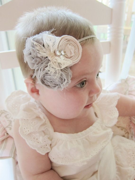 Claire Shaby Chic Headband by CCLovelyLace on Etsy