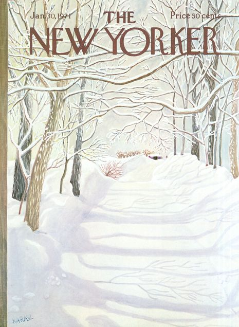 Winter New Yorker Cover