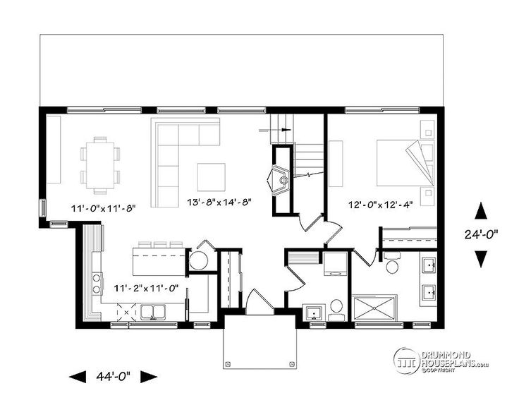 Best Floor Plan Obsession Images On Pinterest Small House