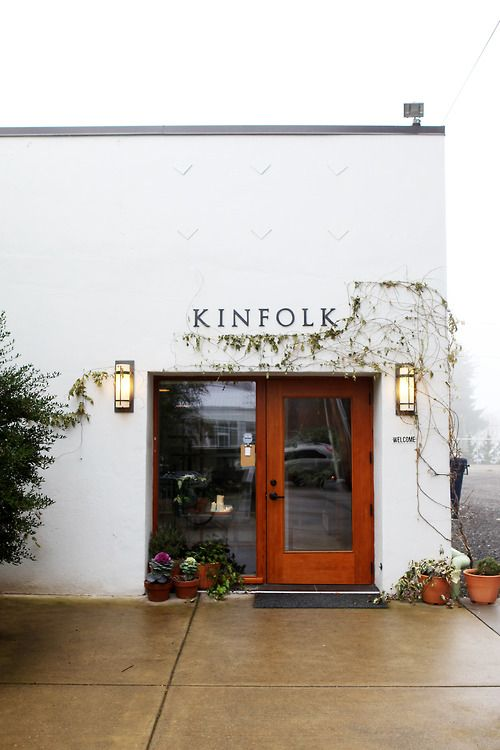 Kinfolk's beautiful exterior