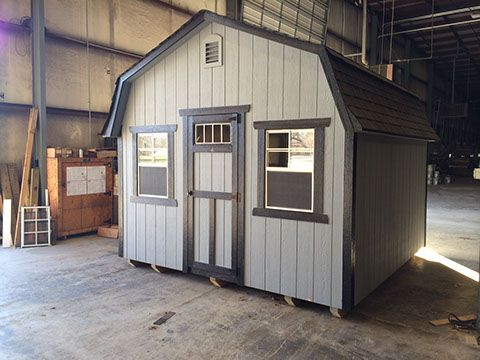 "A Standard Shed is hard to define. Shed Depot provides a large line for our ""Standard Series"" based on a collection of popular A-frame and barn-style sheds in small to medium sizes. Our standard includes a warranty on every part of the shed from the shingles on the roof to the paint for the window trim. Enjoy your little backyard-cottage knowing that it is there to last."