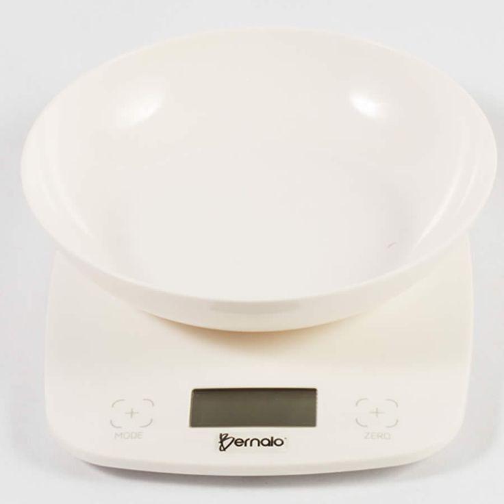 $69.900 Balanza Digital de Cocina con Bowl Plástico y Capacidad de 5kg.