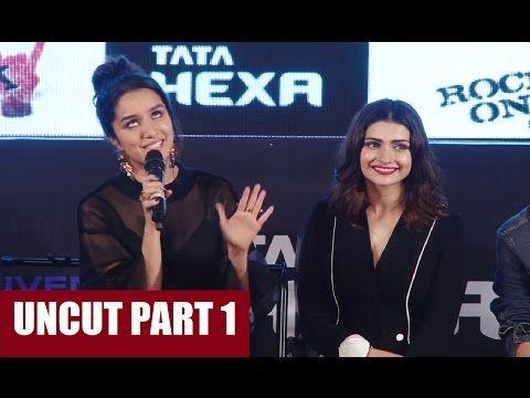 ROCK ON 2 trailer launch | Farhan Akhtar, Shraddha Kapoor, Prachi Desai, Arjun Rampal | PART 1