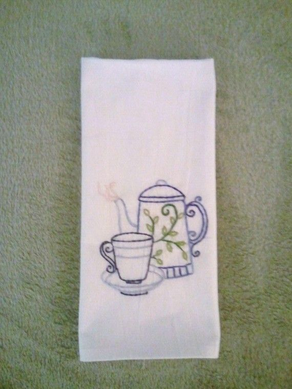 Hand Embroidery Towel!