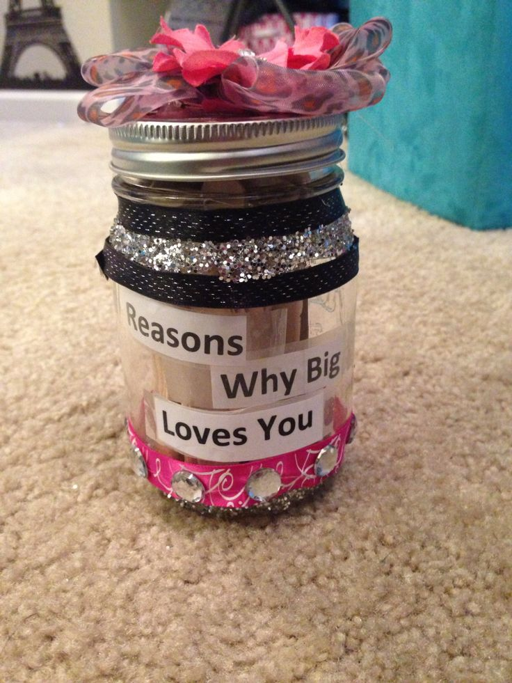 Awww, I think I might do this for my littles during clue week to remind them that their big loves them, especially now that they are taking littles of their own.