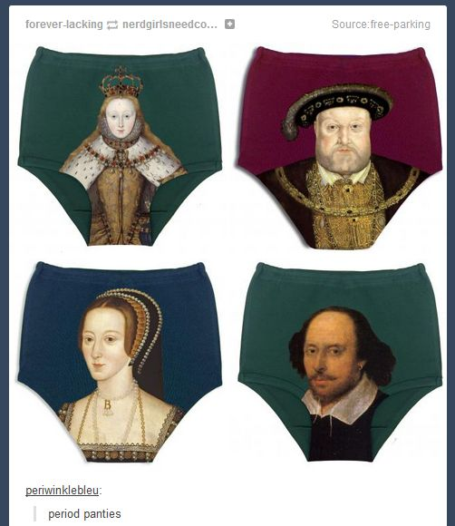 history side of tumblr//Pinned this in Fashion because I want these but its obv hilarious