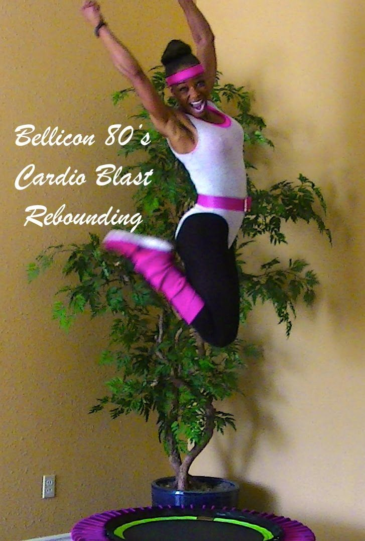 80's Cardio Bellicon Rebounding Workout