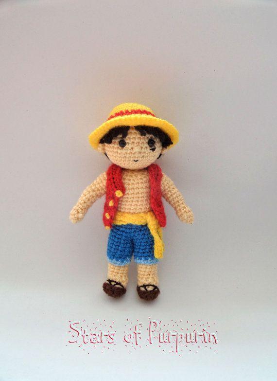 Luffy  One Piece  Monkey D. Luffy Sombrero de por StarsOfPurpurin