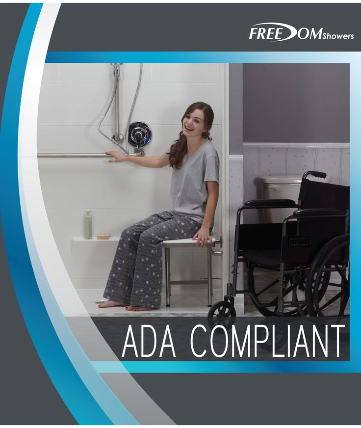 If You Need An Ada Compliant Shower Freedom Showers Has Knock Down Or Multi Piece Units As Well