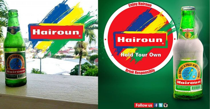Hairoun Beer is the NUMBER ONE beer in St.Vincent and the Grenadines. Description Hairoun Beer is the NUMBER ONE beer in St.Vincent and the Grenadines. Brewed and sold locally since 1985, the flag...