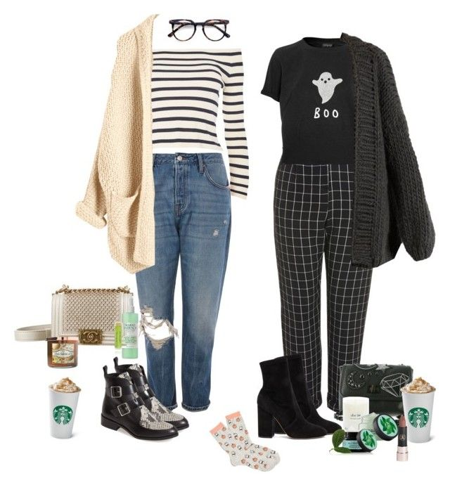 """""""Coffee break"""" by audrey-balt ❤ liked on Polyvore featuring Topshop, I Love Mr. Mittens, Valentino, Steve Madden, Chanel, Fuji, Ace, Mario Badescu Skin Care, Carolina Candle and Anastasia Beverly Hills"""
