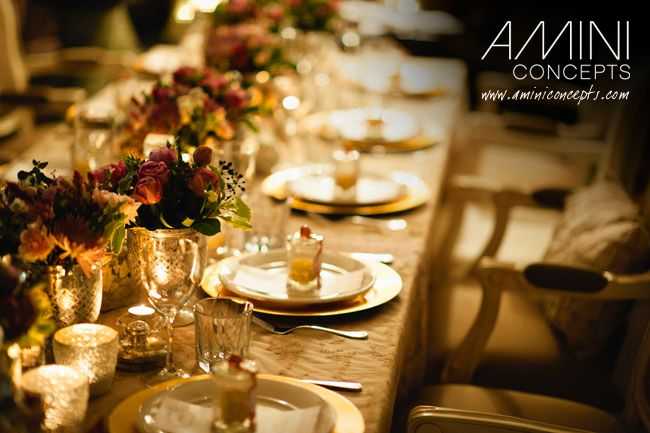 Golden metallic tones and the warmth of a candle light flickering are elements that set the perfect ambience for any wedding. #vintage #mercury #silver #styling #events #weddings #tablesetting #eventstyling #brisbane #queensland #australia