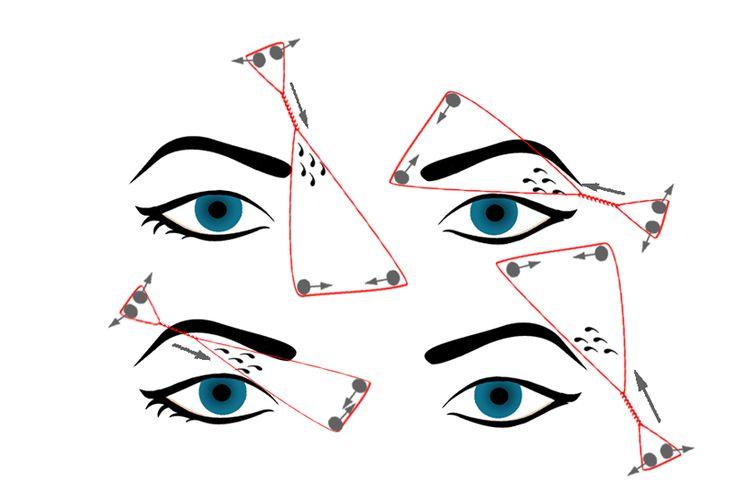 Eyebrow Threading - begin slowly