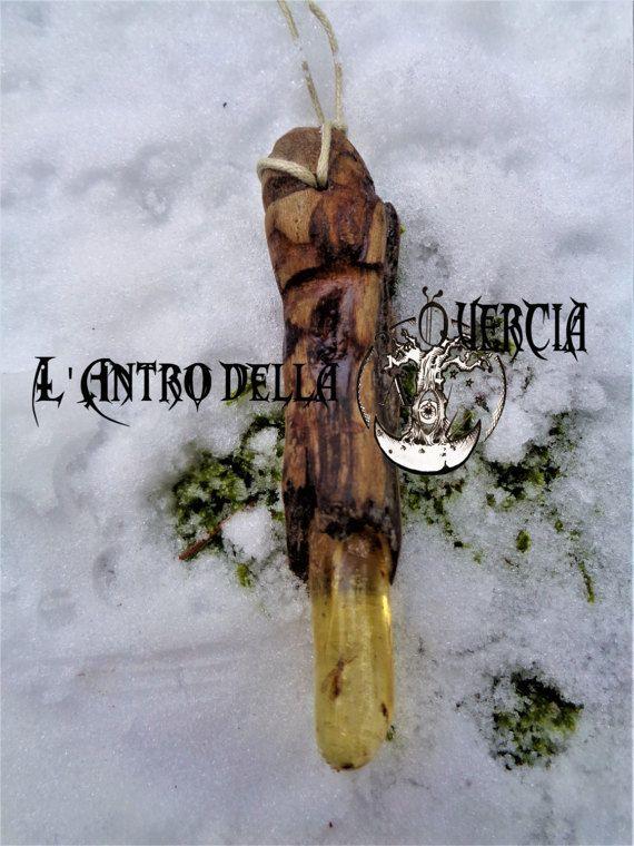 Amuleto d' Ambra  wicca magia sciamanesimo di AntroDellaQuercia