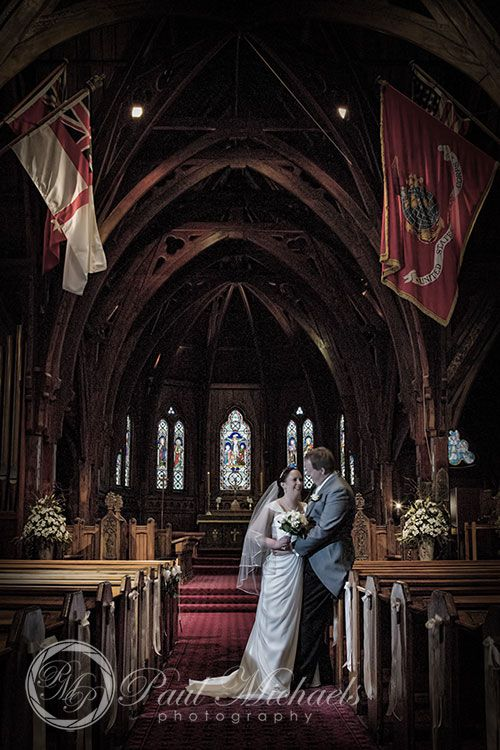 Wedding photos at Old St Paul's church