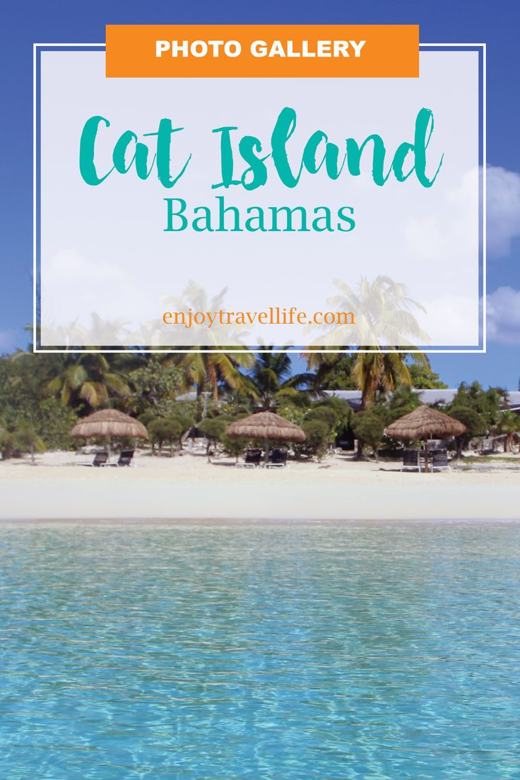 Inspirational photos of tranquil Cat Island, a tropical paradise in the Bahamas Out Islands. See more at enjoytravellife.com