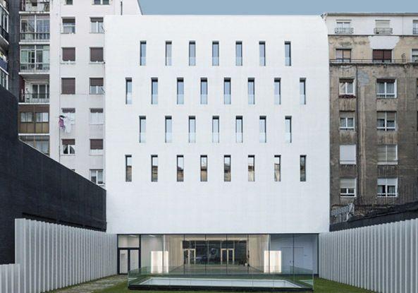 Schöner Lagern - Archivgebäude in Bilbao von ACXT
