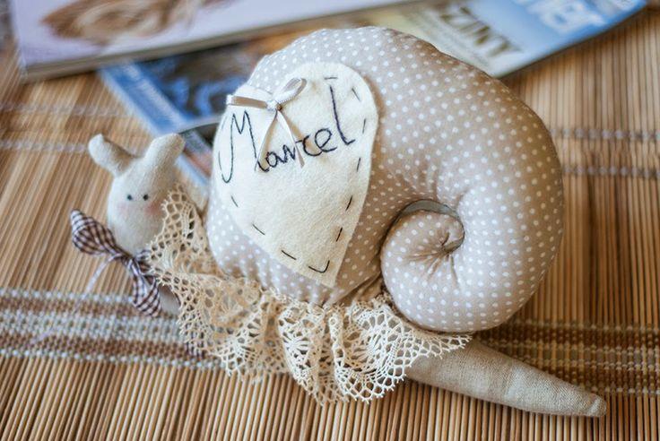 Ślimak dla pewnego Chłopczyka o imieniu Marcel.