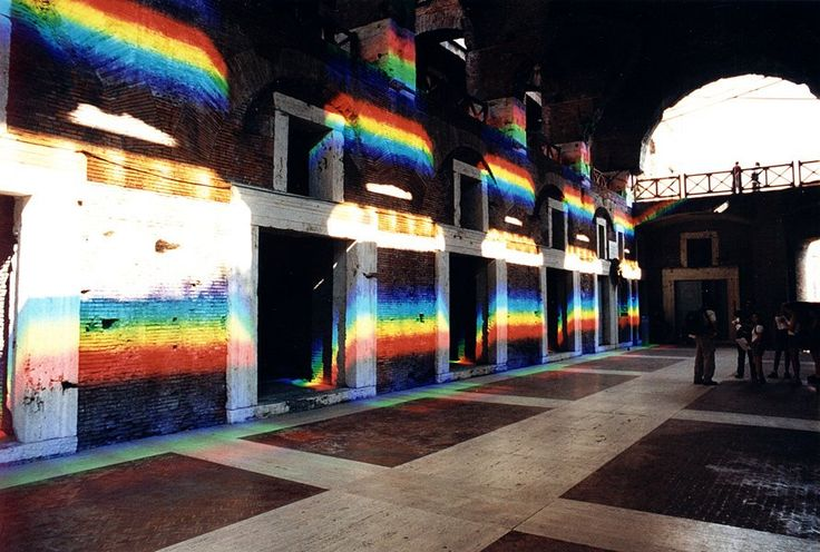 Secrets of the Sun: Artist Peter Erskine Transforms Interior Spaces with Laser-Cut Prism Installations