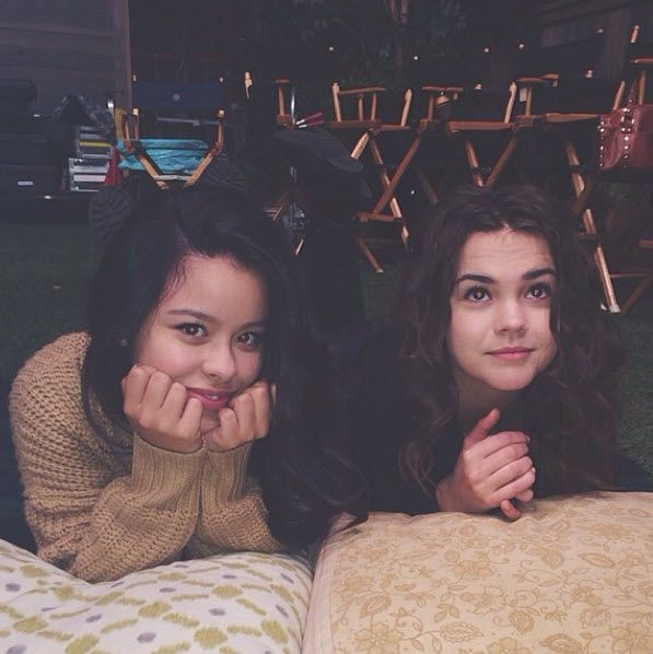 Pics: Maia Mitchell And Cierra Ramirez Together November 15, 2013