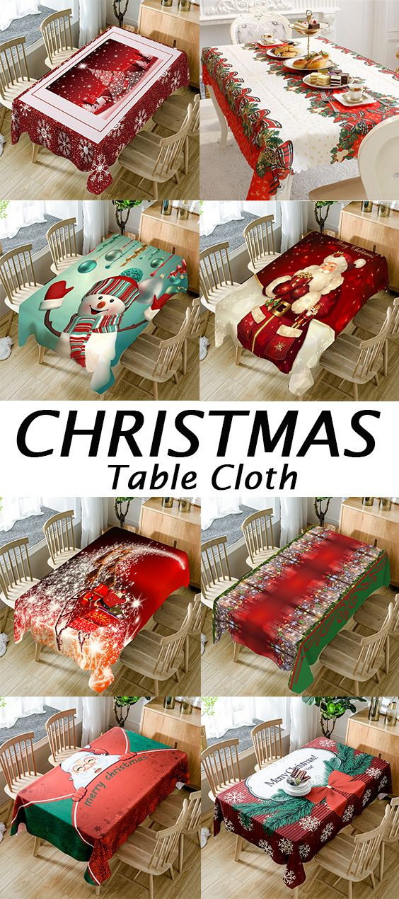Highly Recommend it.50% OFF Christmas Table Cloth,Free Shipping Worldwide.