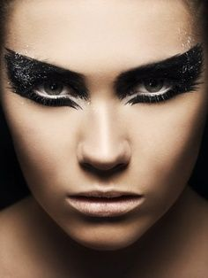 makeup for dark angel costume - Google Search