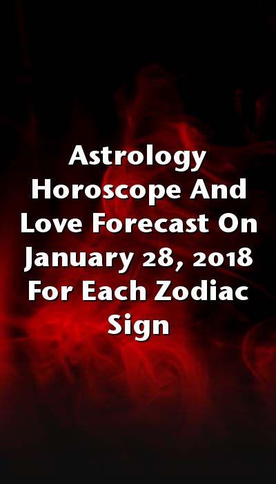 january 28 horoscope love