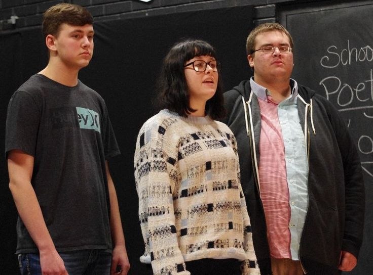 """Hickory Daily Record """"Theatre Students Step Up To Support Hospice""""John Bailey  Jan 14, 2017"""