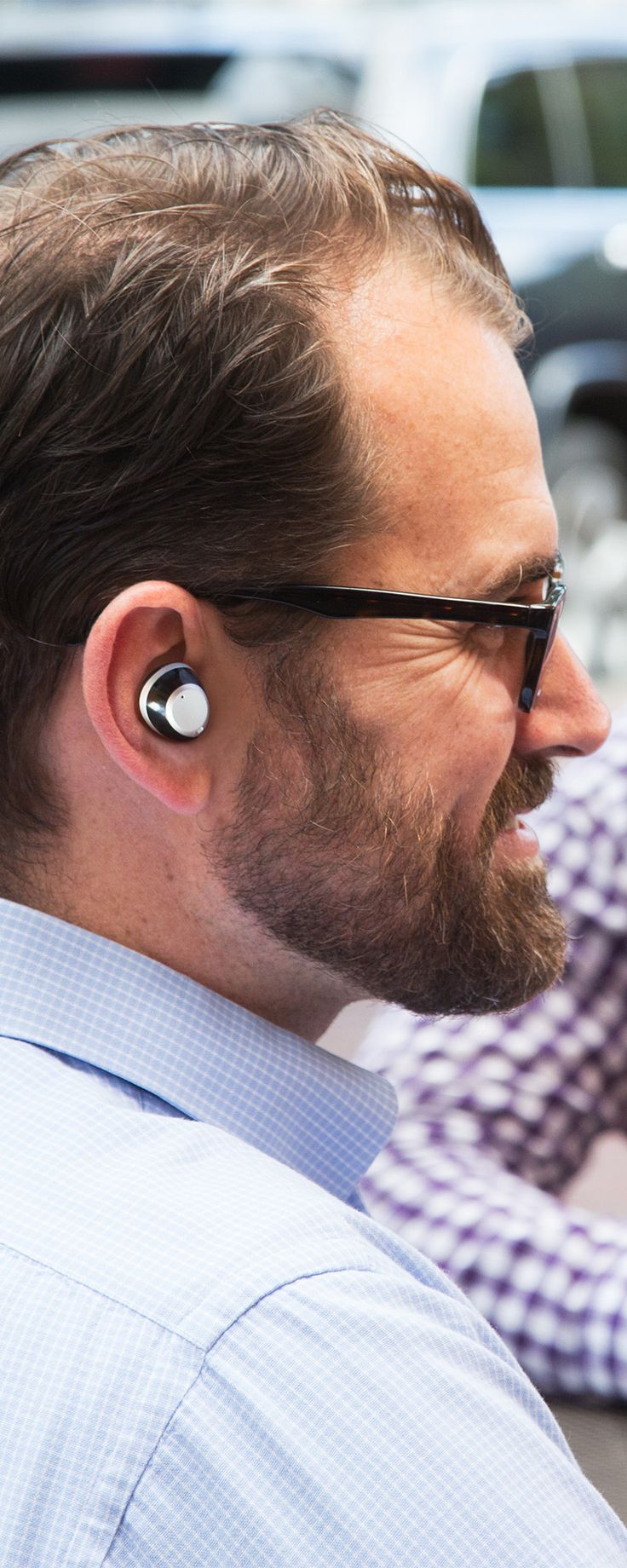 These Bluetooth earbuds are app-enabled to create a custom sound experience tailored just for you. They enhance your natural hearing by amplifying or minimizing sounds to isolate just what you want to listen in on—like a conversation in a noisy restaurant. And the low profile design seamlessly lends a hand (or, more accurately, an ear) without drawing attention.