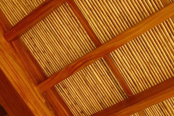 Caña brava ceiling
