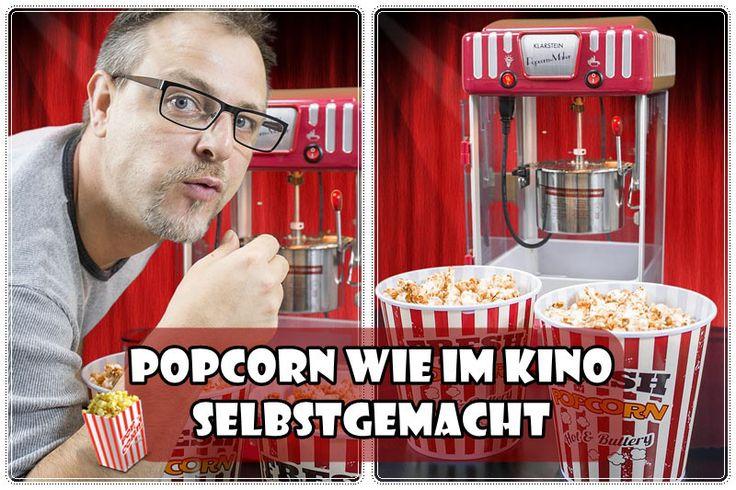 Popcorn wie im kino selbstgemacht  - Susi und Kay Projekte Wir lieben #Popcorn, am liebsten haben wir die süße Variante wie im #Kino. Auf die Zubereitung im Topf will ich gerne verzichten und deshalb haben wir uns nun eine #Popcornmaschine besorgt, die ich euch gerne vorstelle. Im #Testbericht findet ihr auch ein #Video viel Spaß beim Anschauen.  (Der Beitrag könnte rechtlich gesehen Werbung enthalten)