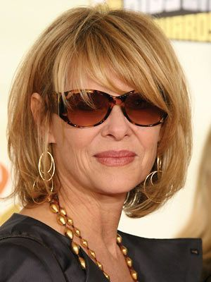 love this chic layered bob | Hair | Pinterest | Layered Bobs, Aging Gracefully and Bobs