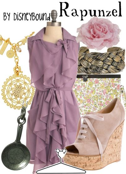 Rapunzel by DisneyBound