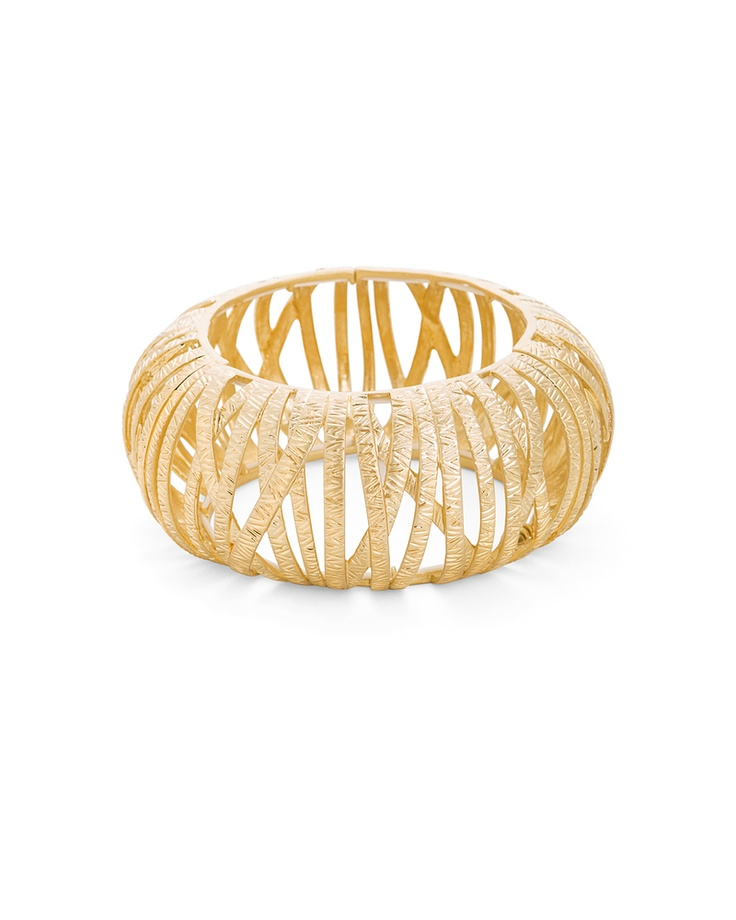 Le Cage Bangle; I almost learned how to work with metals in a jewelry class at Phoenix College (unless I change my major I will do this one day!).
