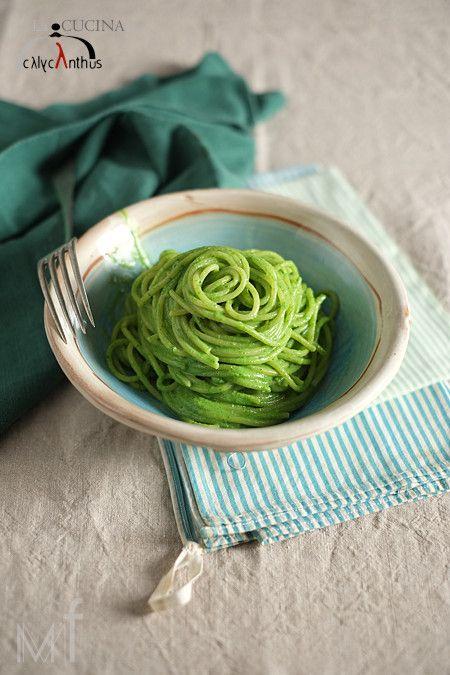 pesto di spinaci crudi – la cucina di calycanthus