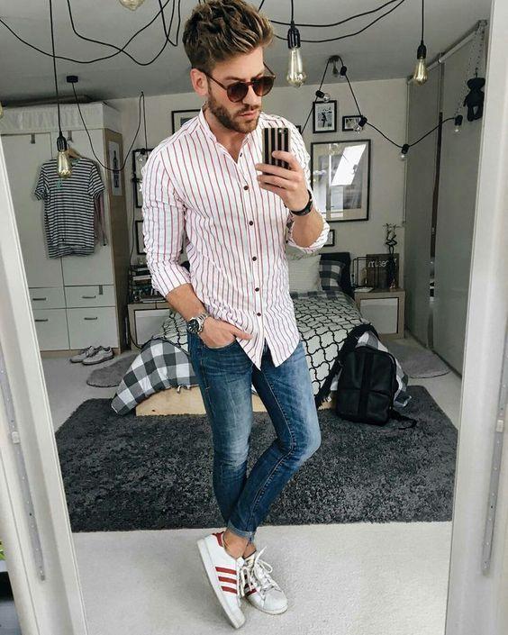 48fde381d Estilo Masculino. Macho Moda - Blog de Moda Masculina: LISTRAS VERTICAIS em  alta na
