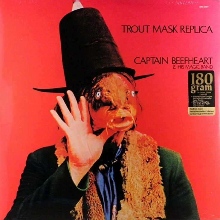 Captain Beefheart Trout Mask Replica 180g LP Vinyl Record Hi Horse Records #ArtRock