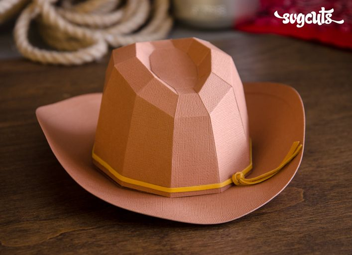 43562266c3e DIY Paper Cowboy Hat (favor box