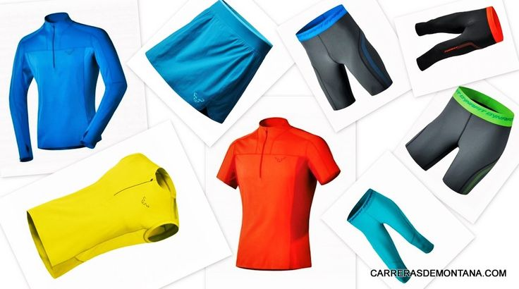 Ropa trail running Dynafit: Gama react series