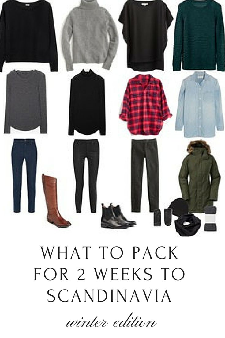 Packing Guide: How to Pack for Two Weeks to Scandinavia in the Winter