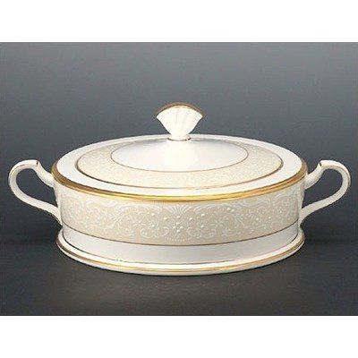Noritake White Palace Covered Vegetable Bowl by Noritake CO., INC.. Save 38 Off!. $282.13. Bone China. World Famous Noritake Quality, Value and Design. Dishwasher Safe. Covered Vegetable Bowl. Since 1904, Noritake has been bringing beauty and quality to dinner tables around the world. Superior artistry and craftsmanship, attention to detail and uncompromising commitment to quality have made Noritake an international trademark during this past century. Noritake Dinnerware will se...