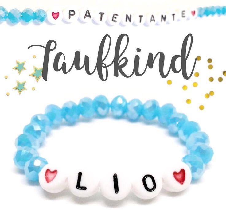 "Gefällt 43 Mal, 3 Kommentare - Kleine_Perle (@kleine_perle_handmadefirlefanz) auf Instagram: ""👼🏼Taufarmband 👼🏻 #taufe #taufarmband #täufling #taufkind #patenkind #patentante #patenonkel…"""