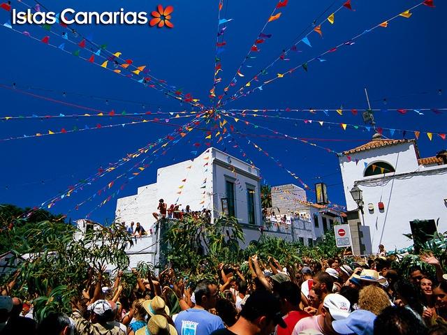 #Fiesta de La #Rama. #AGAETE, GRAN CANARIA.